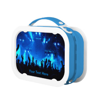 """Cool """"Customizable"""" Live Concert (Multiple Colors) Lunch Box"""