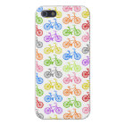 Cool cute bicycle pattern colourful seamless case for iPhone 5/5S
