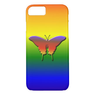 Cool Cute Colorful Butterfly iPhone 7 Case