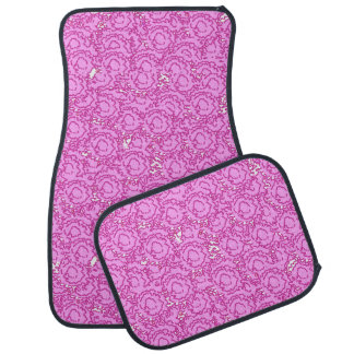 Cool cute girly swirls vibrant pink SWIRLS11 Car Mat