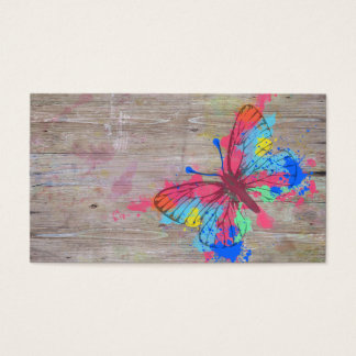 Cool cute vibrant watercolours vintage butterfly