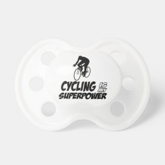 Cool Cycling designs Pacifiers