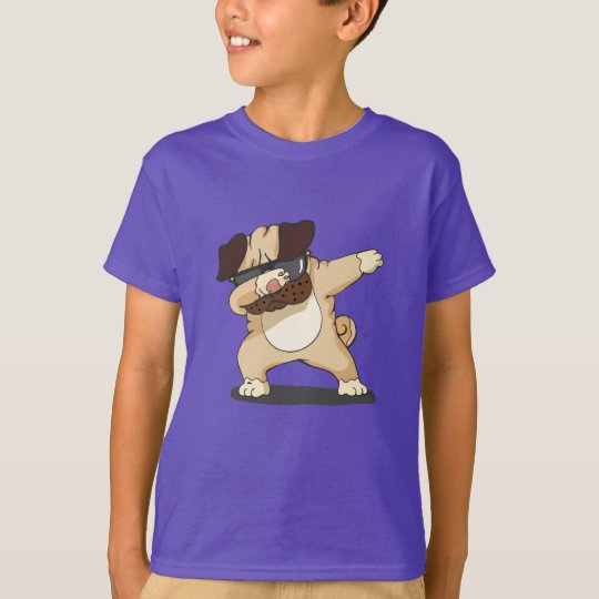 Cool Dabbing Pug with Sunglasses Shirt