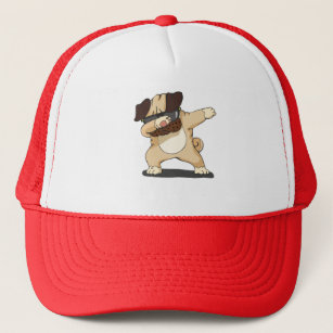 Cool Dabbing Pug with Sunglasses Shirt Hat 13973c165e0