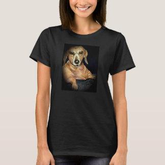 Cool dachshund T shirt with original artwork
