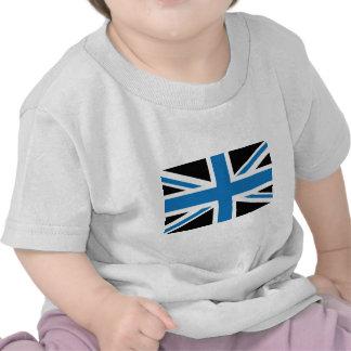 Cool Dark Blue Union Jack British(UK) Flag Tees