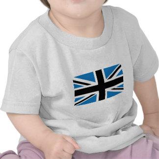 Cool Dark Blue Union Jack British(UK) Flag T Shirts