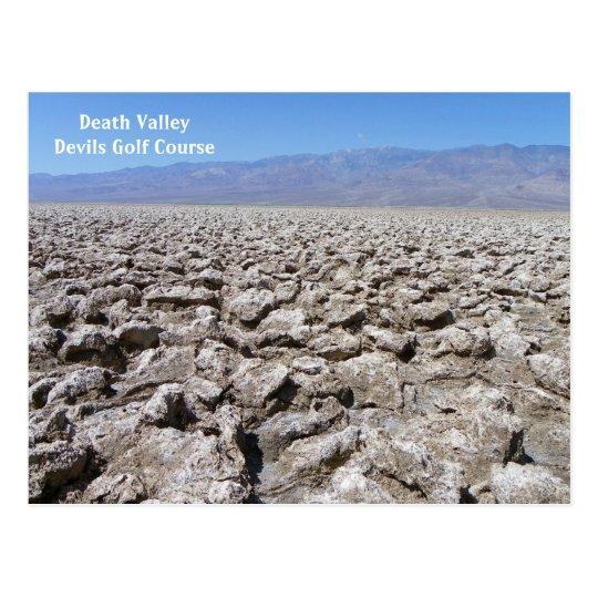 Cool Death Valley Postcard! Postcard