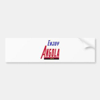 Cool Designs For Angola Bumper Sticker