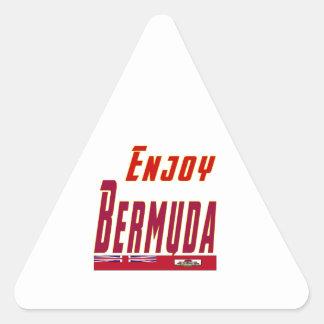 Cool Designs For Bermuda Triangle Sticker