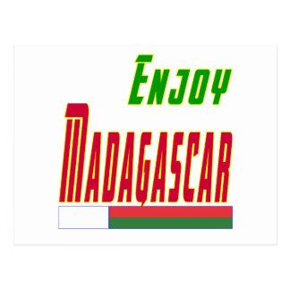 Cool Designs For Madagascar Postcard