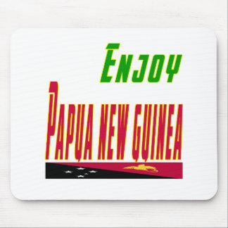 Cool Designs For Papua New Guinea Mouse Pad