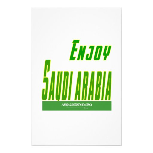 Cool Designs For Saudi Arabia Customized Stationery