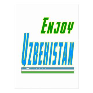 Cool Designs For Uzbekistan Postcard