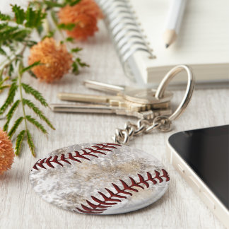 Cool Dirty Look Cheap Baseball Keychains 1 or BULK