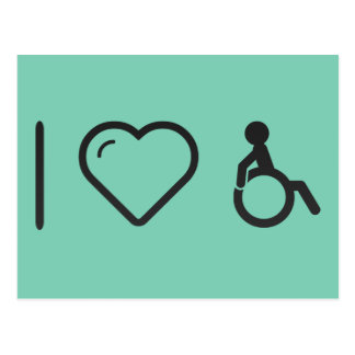 Cool Disabilities Postcard