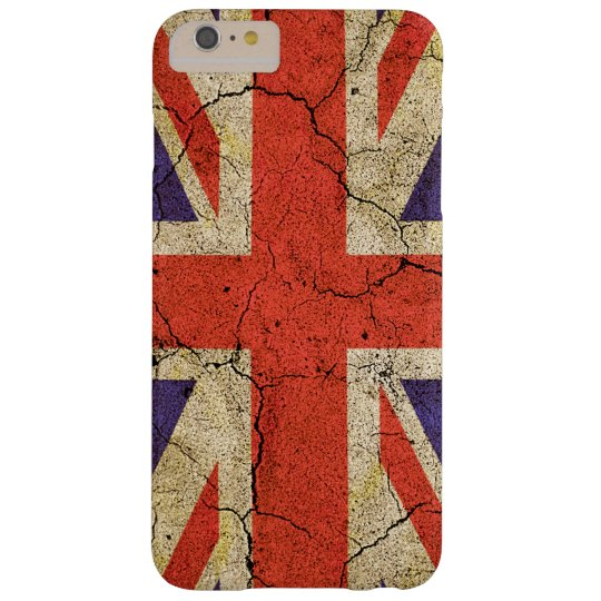 Cool Distressed Union Jack English Flag Barely There