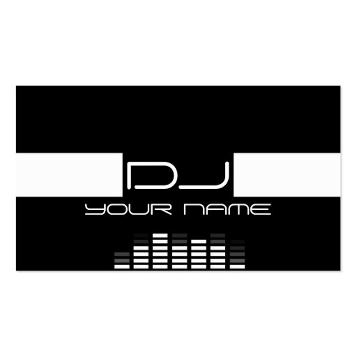 Create your own sound engineer business cards page3 cool dj business card reheart Gallery
