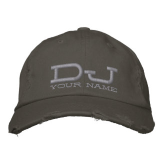 Cool DJ Hat Embroidered Cap
