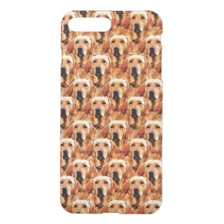 Cool Dog Art Doggie Golden Retriever Abstract iPhone 7 Plus Case