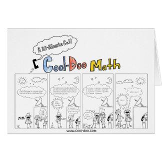 Cool-Doo Math - A 20-Minute Phone Call Greeting Card