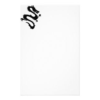 Cool Dragon - Change background color! Stationery Paper