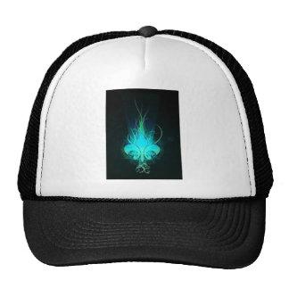 cool draw flower lis hat