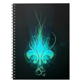 cool draw flower lis notebooks