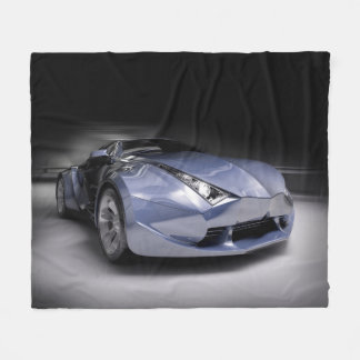 Cool Dream Car Fleece Blanket