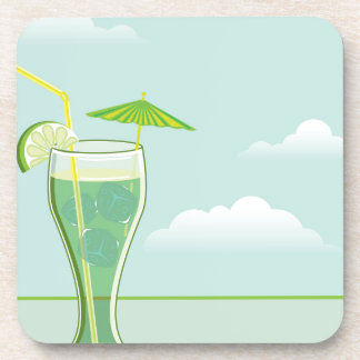 Cool Drink vector Coaster