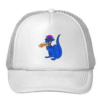 Cool Dude Flaming Dragon Mesh Hat