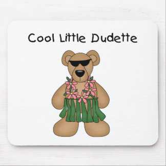 Cool Dudette Mouse Pad