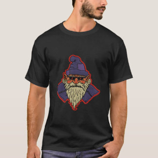cool dwarf dark t-shirt