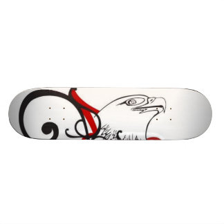 cool eagle skateboard