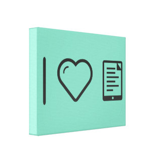 Cool Ebook Pads Canvas Print