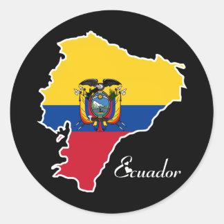 Cool Ecuador Round Sticker