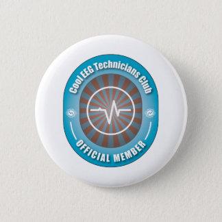 Cool EEG Technicians Club 6 Cm Round Badge