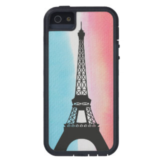 Cool Eiffel Tower Paris colourful background iPhone 5 Cover