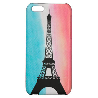 Cool Eiffel Tower Paris iron colourful background iPhone 5C Cover