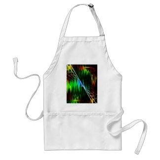 Cool electric green standard apron