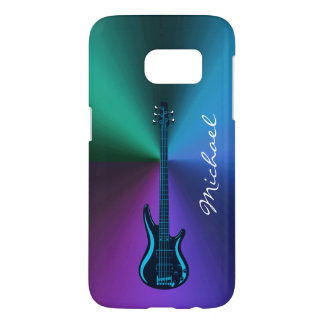 Cool Electric Guitar Personalized Galaxy  S7 Case