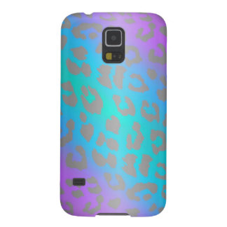 Cool Electric Leopard Animal Print Galaxy S5 Case