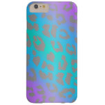 Cool Electric Leopard Fur Animal iPhone 6 Case Barely There iPhone 6 Plus Case