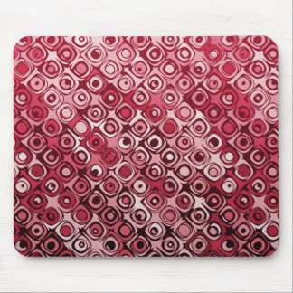 Cool elegant abstract cherry red mousepad