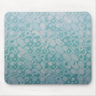 Cool elegant abstract emerald mousepad