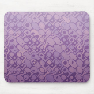 Cool elegant abstract light purple mousepad