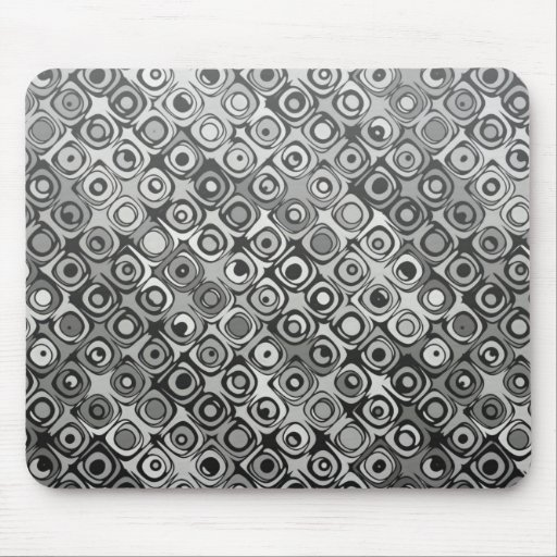 Cool elegant abstract pattern blackmousepad mousepad