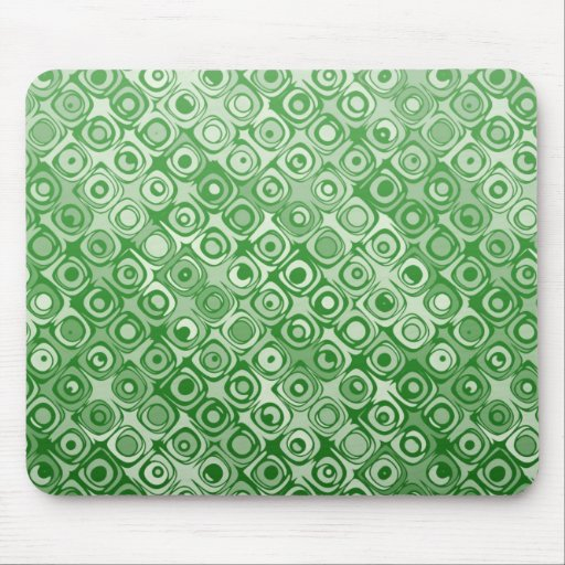 Cool elegant abstract pattern greenmousepad mouse pad