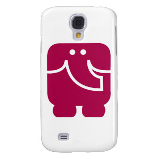 Cool Elephant icon design Galaxy S4 Case
