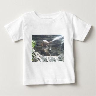 Cool Elephant Splash Baby T-Shirt